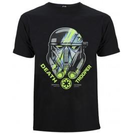 Star Wars Rogue One Death Trooper Xl, Ts, Black MAJICA