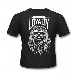 Star Wars Chewbacca Loyalty L, Sk, Black MAJICA STRUKIRANA