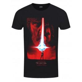 Star Wars The Last Jedi Poster S, Ts, Black MAJICA