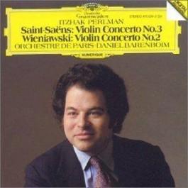 Itzhak Perlman Barenboim Saint-Saens Violin Concerto 3 CD