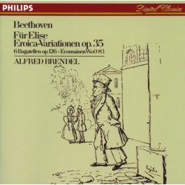 Alfred Brendel Beethoven Fur Elise, Eroica CD