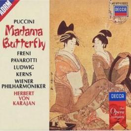 Herbert Von Karajan Wiener Philharmoniker Puccini Madama Butterfly CD3