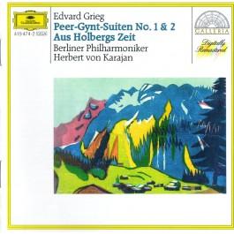 Grieg Peer Gynt Suiten Nr. 1&2 CD