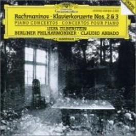 Zilberstein Berliner Philharmoniker Abbado Rachmaninov Piano Concertos2 & 3 CD