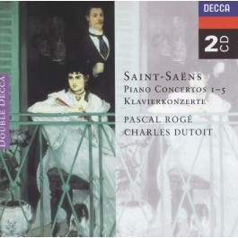 Decca Double Saint-Saens Piano Concertos 1 CD2