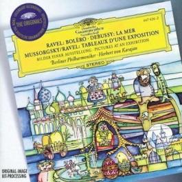 Herbert Von Karajan Mussorgsky Bilder Einer Ausst CD