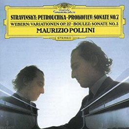 Maurizio Pollini Stravinsky, Prokofiev, Webern, Boulez Piano Works CD
