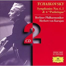 Tchaikovsky Berliner Philharmoniker Karajan Symphonies Nos.4,5&6. CD