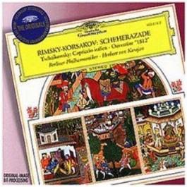 Herbert Von Karajan Berliner Ph Rimsky-Korsakov Scheherazade CD