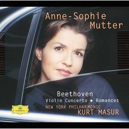 Anne-Sophie Mutter Beethoven Violin Concerto CD