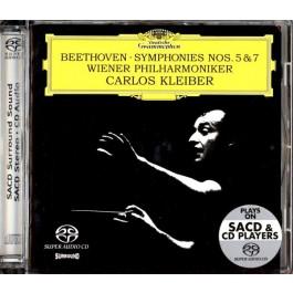 Carlos Kleiber Wiener Philharmoniker Beethoven Symphonies 5, 7 SACD