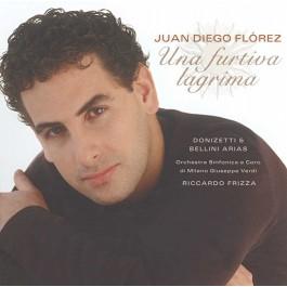 Juan Diego Florez Una Furtiva Lagrina CD
