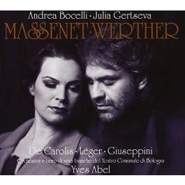 Andrea Bocelli Massenet Werther CD