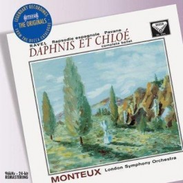 Pierre Monteux London So Ravel Daphnis Et Chloe, Rapsodie Espagnole CD