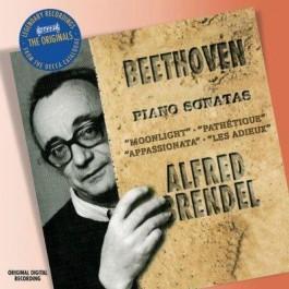 Alfred Brendel Beethoven Piano Sonatas 8,14,23 & 26 CD