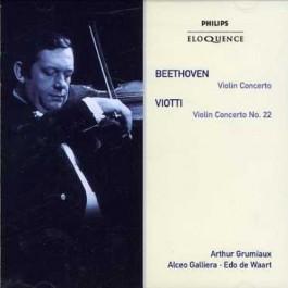 Arthur Grumiaux Beethoven, Viotti Violin Concerto, Violin Concerto No.22 CD