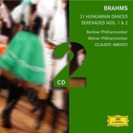 Dg Double Brahms 21 Hungarian Dances CD