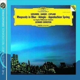 Dg Grand Prix Gershwin, Barber Rhapsody In B CD