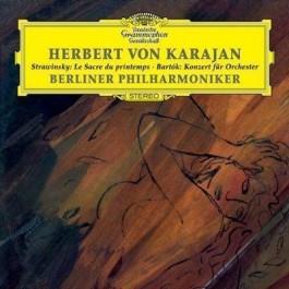 Herbert Von Karajan Vol.5 - Stravinsky Le Sacre D CD