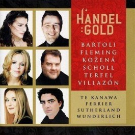Various Artists Gold Handel CD