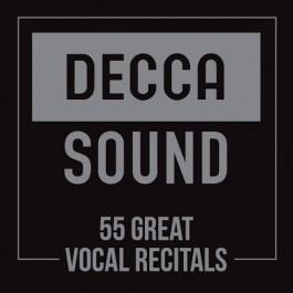 Various Artists Decca Sound 55 Great Vocal Recitals CD55