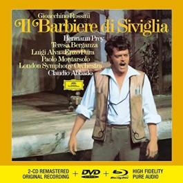 Claudio Abbado Lso Rossini Il Barbiere Di Siviglia CD2+DVD+BLU-RAY