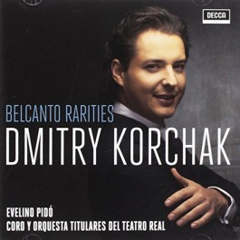 Dmitry Korchak Belcanto Rarities CD