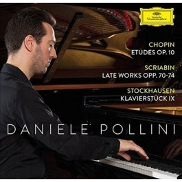Daniele Pollini Chopin, Scribian, Stockhausen CD