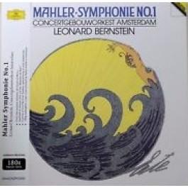 Leonard Bernstein Mahler Symphonie No.1 180Gr LP+CD