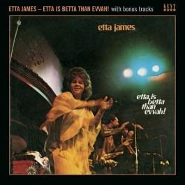 Etta James Etta Is Betta Than Evvah CD