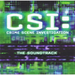 Soundtrack Csi Crime Scene Investigation CD