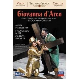 Anna Netrebko Francesco Meli Verdi Giovanna Darco DVD