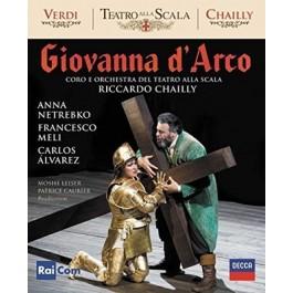 Anna Netrebko Francesco Meli Verdi Giovanna Darco BLU-RAY