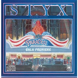 Styx Paradise Theater CD