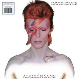 David Bowie Aladdin Sane 45Th Anniversary Limited Silver Vinyl LP