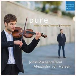Jonas Zschenderlein Alexander Von Heisen Pure Bach, Corelli, Westhoff, Montanari CD