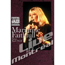 Marianne Faithfull Live In Montreal DVD