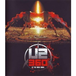 U2 360 At The Rose Bowl BLU-RAY