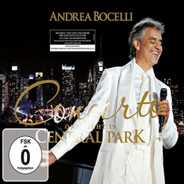 Andrea Bocelli Concerto One Night In Central Park CD2+DVD2