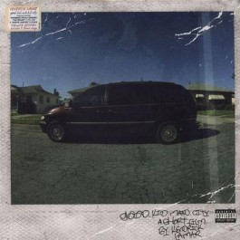 Kendrick Lamar Good Kid, M.a.a.d City LP2