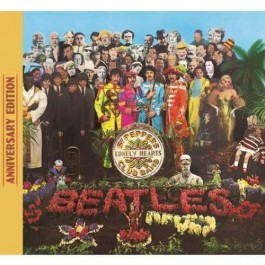Beatles Sgt. Peppers Lonely Hearts Club Band Anniversary Ed. Superdeluxe CD4+BRD+DVD