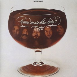 Deep Purple Come Taste The Band Purple Vinyl LP