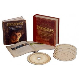 Soundtrack Lord Of The Rings The Fellowship Of The Ring - Complete Recordings Deluxe CD3+BLU-RAY