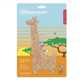 Kikkerland Magnet Žirafa Pluto RAZNO
