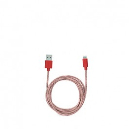 Kikkerland Kabel Za Napajanje Charging Cable Red Iphone, Ipad, Ipod RAZNO