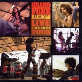 Grand Funk Railroad Live Tour 1971 CD
