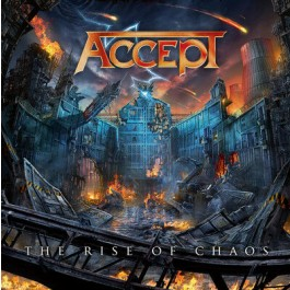 Accept Rise Of Chaos CD