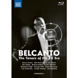 Various Artists Belcanto The Tenors Of The 78 Era BLU-RAY2+DVD+CD2+BOOK2