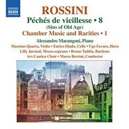 Alessandro Marangoni Rossini Complete Piano Music 8 CD