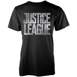 Dc Comics Justice League Classic Logo Xl, Ts, Black MAJICA